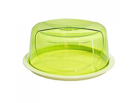 Тортовница круглая цветная Bager Smart, 33,5 x 14,5 см BG-425, фото 2