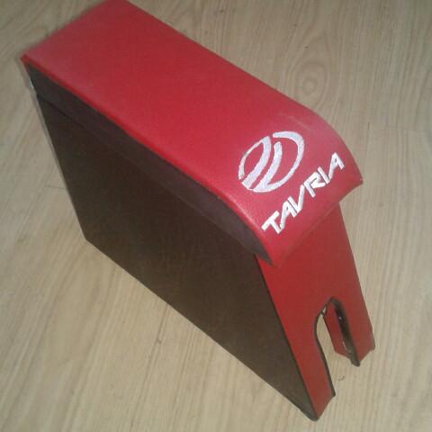 Подлокотник красный Таврия ЗАЗ 1102