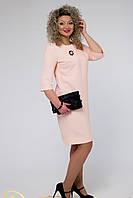 Платье светло-кофейное модель № 1285.скл№2