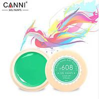 Гель краска CANNI цвет 608