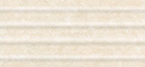 Плитка Интеркерама Оазис св.беж.рельеф настенная 230*500 Intercerama Oasis 2350 64 021-Р для ванной,кухни.