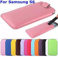 Универсальный чехол-карман для телефона Samsung S6, фото 1