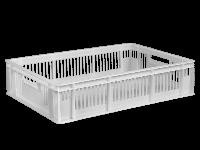Ящики пластиковые для цыплят 600 x 400 x 140 Белый