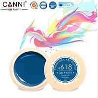 Гель краска CANNI цвет 618