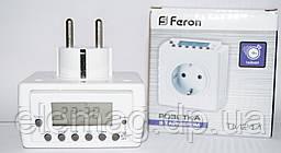 Розетка с недельным таймером TM211 Feron