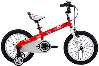 """Детский велосипед ROYAL BABY HONEY 18""""  Красный/Белый"""