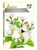 Свечи ароматизированные жасмин чайные-таблетки.