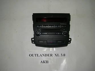 Блок управления магнитофоном Mitsubishi Outlander (CW) XL 06-14 (Мицубиси Оутлендер ХЛ)