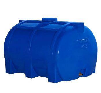 Бак, бочка, емкость 200 литров пищевая горизонтальная RGО, фото 2