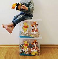 Ящик для игрушек Winni the Pooh 20.5 литра Keeeper