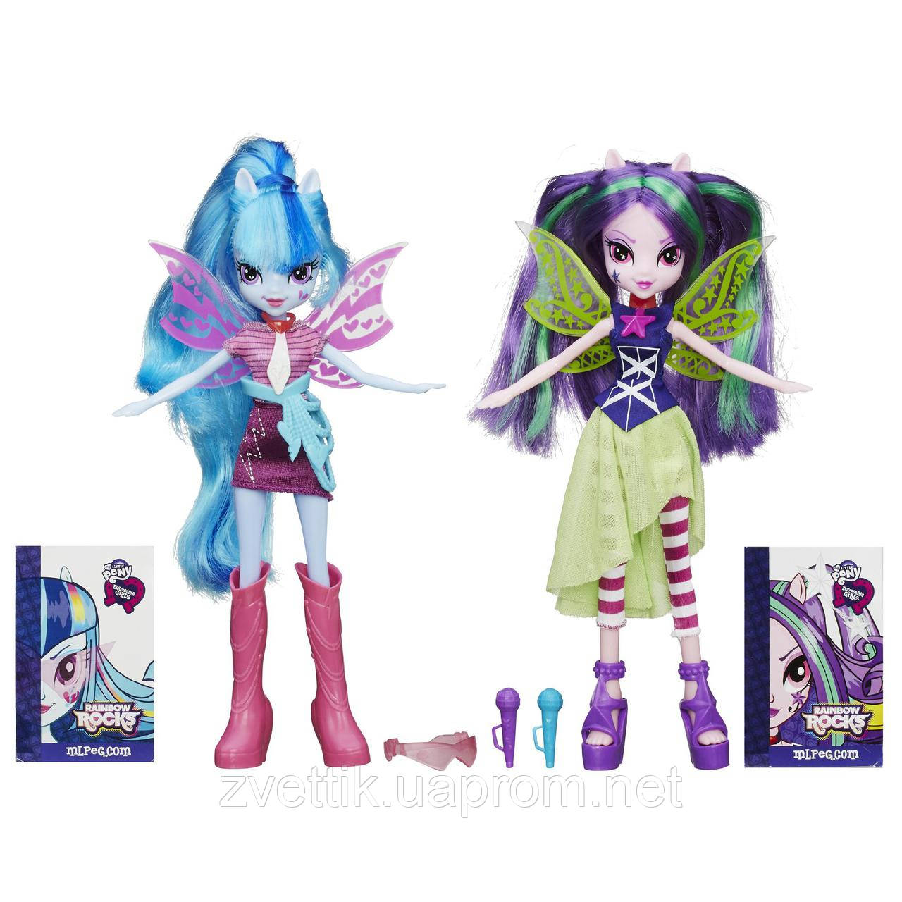 Куклы My Little Pony Equestria Girls Aria Blaze and Sonata Dusk Ария и Соната
