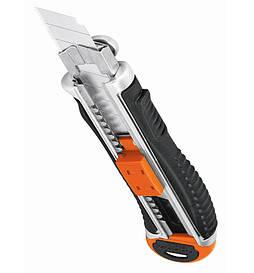 Нож Truper CUT-6XX, выдвижной, усиленный, металл 5 лезвий