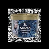 Краска Eskaro Akzent aнтибактериальная влагостойкая полуглянцевая  2.7 л