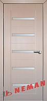 Дверь межкомнатная Персей ПО (дуб-грей, венге светлый), фото 1