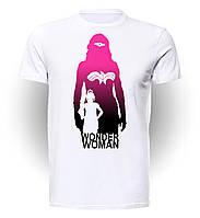 Футболка мужская GeekLand Чудо-Женщина Wonder Woman Silhouette WW.01.012