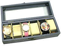 """Шкатулка для часов на 6 шт """"Фиолетовый"""" (31х11х8 см)"""