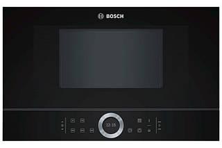 Микроволновая печь Bosch BFL634GB1 (встраиваемая, 21 л, 1,22 кВт)