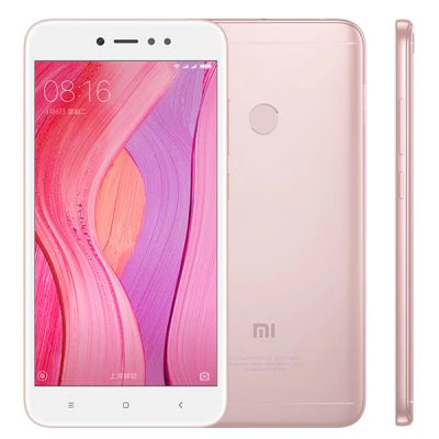 "Смартфон Xiaomi Redmi Note 5A Prime 3/32Gb Rose Gold, 16/13Мп, 8 ядер, 2sim, экран 5.5"" IPS, 3080mAh, 4G"