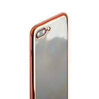 Чехол силиконовый с бампером под металик iPhone 7 Plus