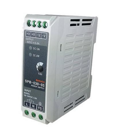 Источник питания импульсный 5 VDC, 3 А,  15 Вт на DIN-рейку