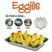 Яйцеварка без скорлупы – пластиковые контейнеры «Eggies», фото 1