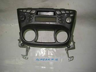 Магнитофон до рест Nissan Almera (N16) 00-07 (Ниссан Алмера Н16)