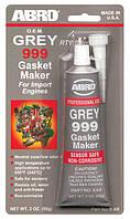Герметик прокладочный ABRO 999 цвет:серый 9-AB