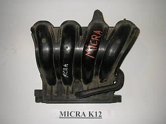 Коллектор впускной пластик 1.2 Nissan Micra (K12) 02-11 (Ниссан Микра К12)