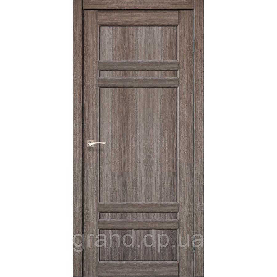 Двери межкомнатные Корфад TIVOLI Модель:TV-02 цвет дуб грей