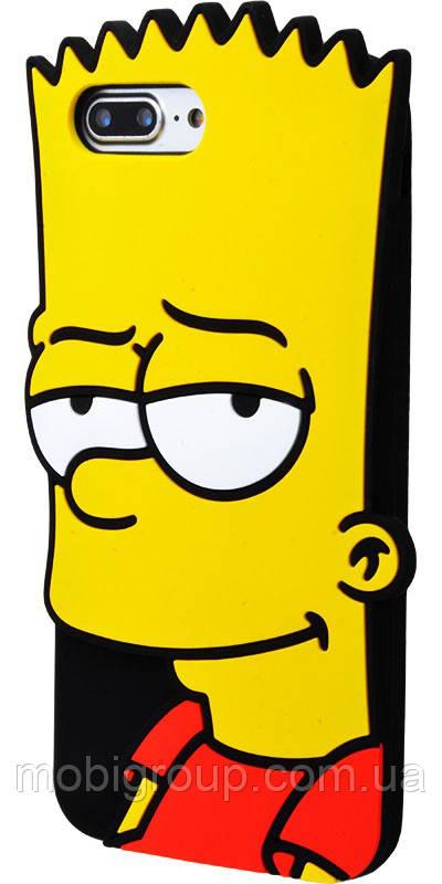 Силиконовый чехол Барт Симсон iPhone 7 Plus