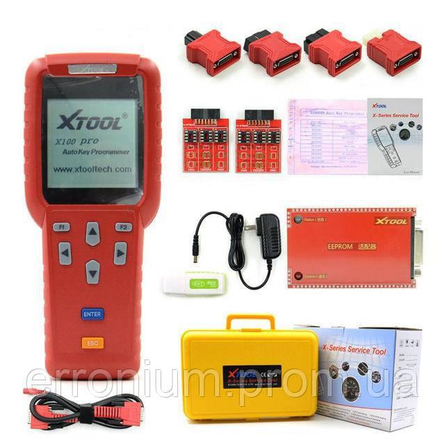 Xtool X100 PRO программатор ключей корректор одометров EEPROM OBD2 +  диагностика