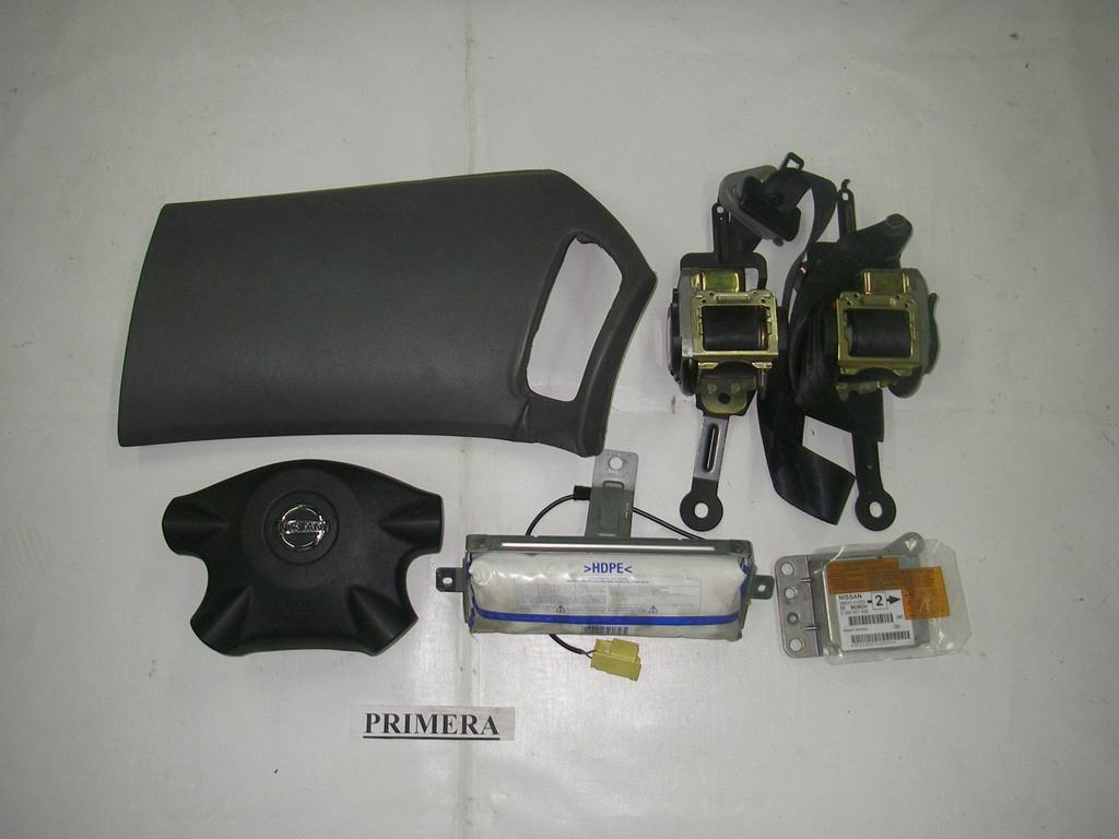Подушки безопасности комплект Nissan Primera (P12) 02-09 (Ниссан Примера П12)  98820AV200