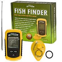 """Ехолот """"Fish Finder"""" портативний бездротовий для пошуку риби"""