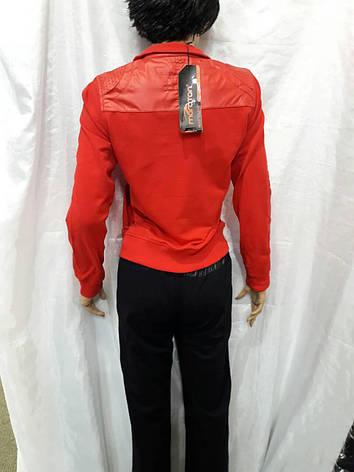 Костюм женский трикотажный спортивный Maraton красный, фото 2