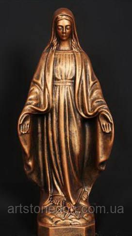 Статуя Богородицы 35 см из полимера №3