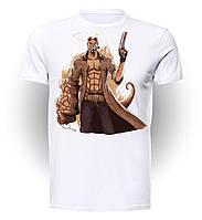 Футболка мужская GeekLand Хеллбой Hellboy cigarette HL.01.003