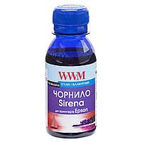 Чернила WWM SIRENA для Epson 100г Cyan сублимационные (ES01/C-2)