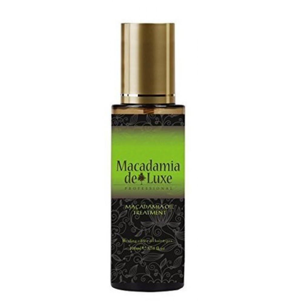 MACADAMIA DE LUXE Масло макадамии для волос и тела 100 мл