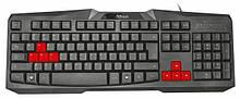Проводная клавиатура  TRUST ZIVA GAMING KEYBOARD UKR (22114)