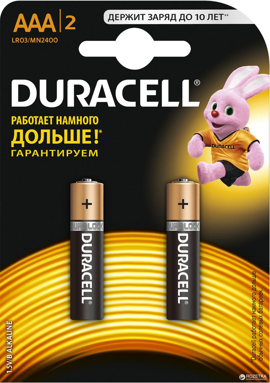 Батарейки DURACELL 1 шт.