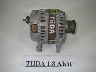 Генератор 1.6 (12v/120A) Nissan Tiida (C11) 07-13 (Ниссан Тиида Ц11)  23100EM01A