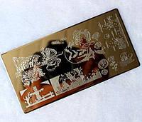Трафарет для стемпинга металлический SPH-006
