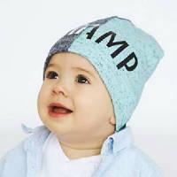 """Двухсторонняя шапка для мальчика """"Рендис""""Dembohouse"""