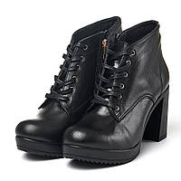 Женские ботинки на каблуку Осень-весна