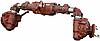 Передній міст МТЗ-82 (під ГОРУ) 8 шпильок (пр-во МТЗ)