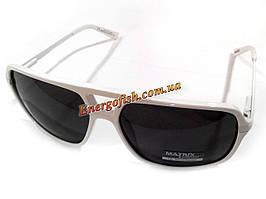 Очки Matrix поляризационные 08260 285-91-64R черные белая оправа