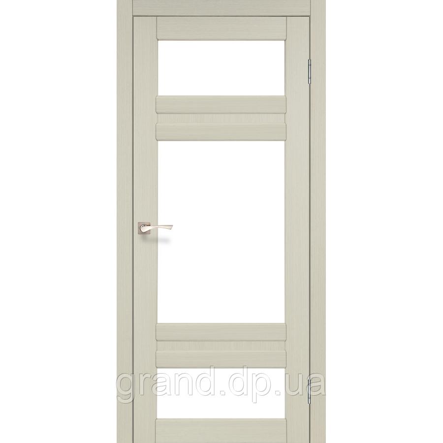 Двери межкомнатные Корфад TIVOLI Модель:TV-05 дуб беленый c матовым стеклом