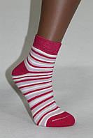 Женский носок, полный плюш, Зима, хлопок, Полоска