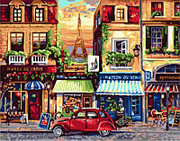 Картина по номерам Парижская улица 2189