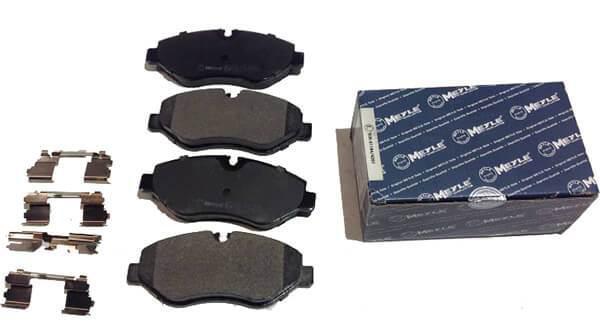 Колодки тормозные (передние) MB Sprinter (906) /Vito (639) (Brembo) Meyle